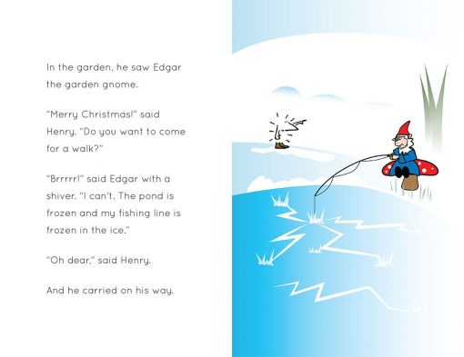 Henry the Hedgegnome's amazing Christmas Day - spread 2