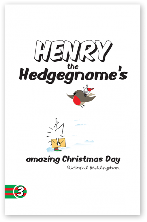Henry the Hedgegnome's amazing Christmas Day paperback
