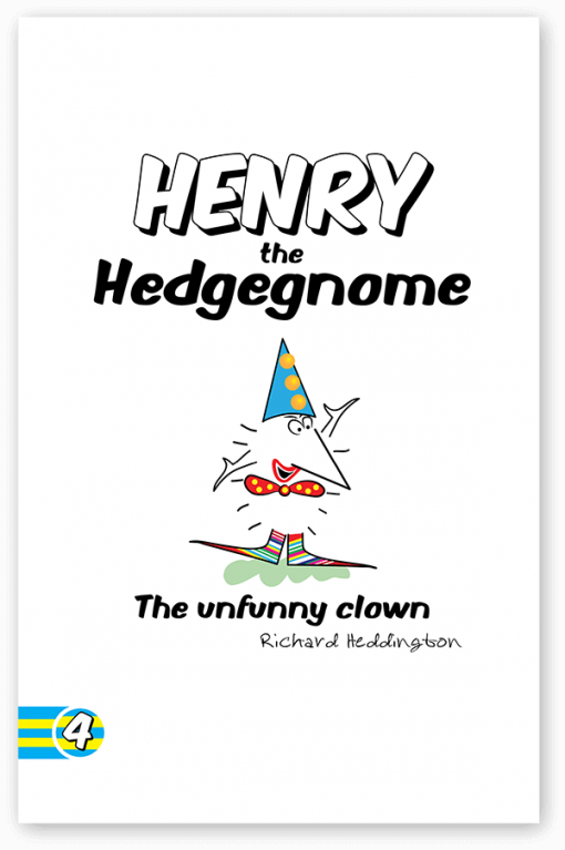 Children's books   Henry the Hedgegnome The unfunny Clown cover