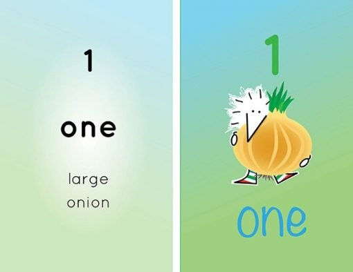 Children's books | Henry the Hedgegnome loves numbers 1 onion