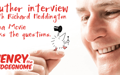 Author interview with Richard Heddington – Fiona McVie asks the questions.