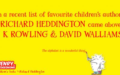 A list of favourite children's authors.