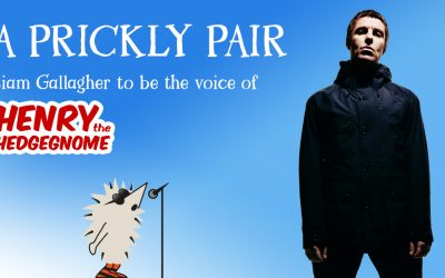(What's the story?) Liam Gallagher to be the voice of Henry the Hedgegnome